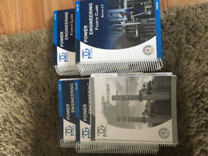 4th Class Power Engineering CPET text books