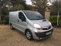Vauxhall Vivaro (not transit, caddy, transporter, traffic, crafter)
