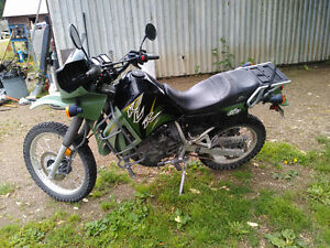03' KAWASAKI KLR 650 VERY NICE / SWAP FOR QUAD 4500.00