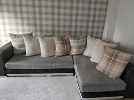 Dfs L shaped sofa