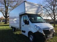 Vauxhall Movano 3.5T LWB Transit Sprinter Size 15ft Dropwell Luton Removal Van