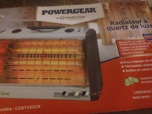 Brand New PowerGear Deluxe Quartz Heater