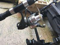 Carp rod & reel