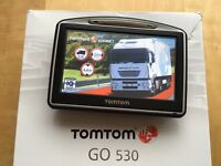 TomTom GO 530 HGV + LATEST Europe TRUCK map v971! Perfect, up-to-date August 2016!