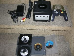 Play Station1 and Nintendo Game Cube with games