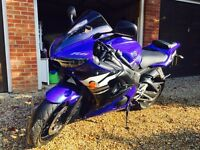 2003 r6 very low mileage excellent condition