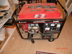 GENERATOR KING CANADA 6500 W POWER FORCE