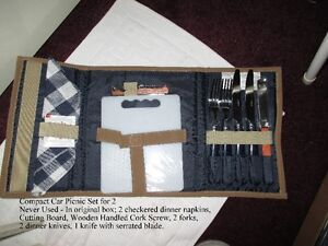 Wine & Cheese Picnic Kit for 2