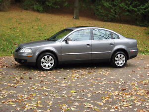 2005 Volkswagen Passat 4 door Sedan you would  not find a cleane