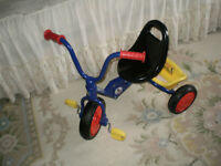 "ALMOST NEW HEAVY DUTY ""UNISEX"" CLICK & GO FOLDING TRIKE/TRICYCLE"