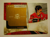 2008-09 The Cup Foundations Patches Denis Savard Artist Proof!