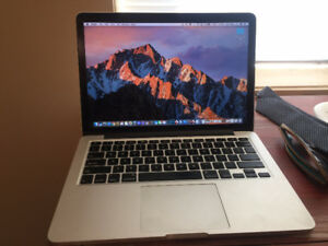 """MacBook Pro Retina Late 2013, 13""""  ONLY 150 BATTERY CYCLE COUNT"""