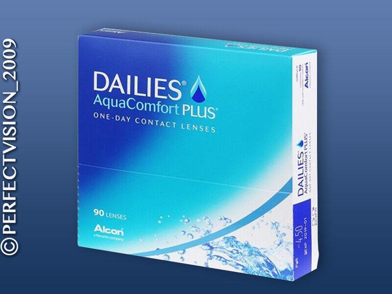 1x90 DAILIES AquaComfort Plus - Alcon - Tageslinsen NEU