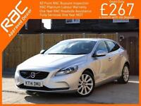 2014 Volvo V40 1.6 D2 Turbo Diesel SE LUX 6 Speed Estate Bluetooth DAB Full Leat
