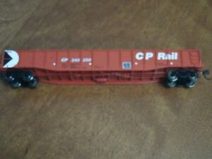 "HO scale CP Canadian Pacific 52'6"" gondola Pac-Man"