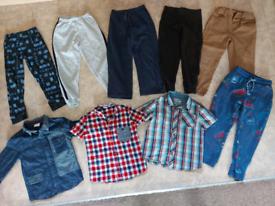 Boys pants and shirts set 4-5 Years