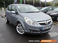 2007 VAUXHALL CORSA 1.4i 16V Design Low Insurance Aircon Aux Mp3 Input