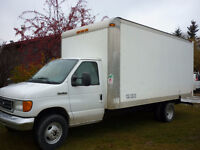 2007 Ford E450 Super Duty Cube Van