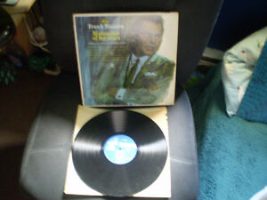 vinyl Lp frank Sinatra/september of my years 33 tour