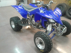 2007 yfz450 with papers for trade for 5 or 6 speed car of equal