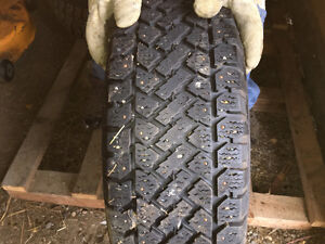 Studded Winter Tires on Rims Prince George British Columbia image 3