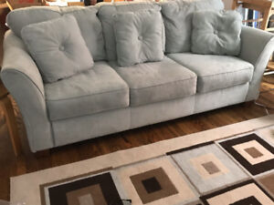 Couch, Love Seat, Chaise, Hutch/Buffet & TV Stand - For sale