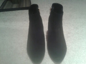 Black Suede Ankle Boots from Aldo