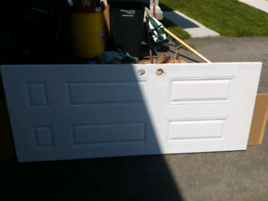 """32"""" x 79"""" steel exterior door."""