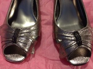 Elegant metallic shoes size 11 BRAND NEW