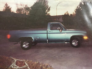 1981 Chev fully restored square body