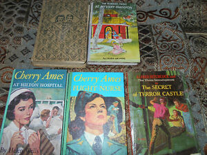 Bobbsey Twins, Cherry Ames and one Alfred Hitchcock