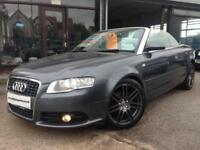 2009 (09) Audi A4 Cabriolet 2.0TDI Multitronic Final Edition (Finance Available)