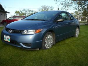 2007 Honda Civic DX-G Coupe (2 door)