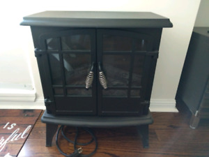Electric fireplace - FREE, heater still works