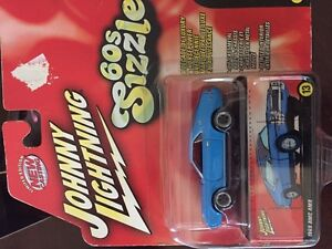 JOHNNY LIGHTNING 60's SIZZLE SERIES 1969 AMC AMX #13 SCALE: 1:64