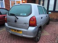 Suzuki Alto 1.1 GL + 5 DOORS + 5 SPEED + SPARES OR REPAIRS OR PARTS