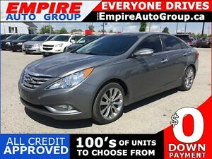 2013 HYUNDAI SONATA LIMITED * FULLY LOADED * LEATHER * 1OWNER *