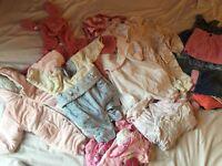 Baby Girl Winter Wear, 3-6m & 6-9m