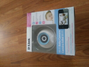 D-Link wifi baby camera monitor