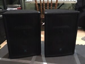 Pa speakers for sale! Yorkville 200 watts