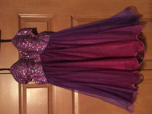 Pink/Purple Semi Formal Dress