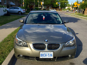 2007 BMW 5-Series 525xi Sedan E-Tested