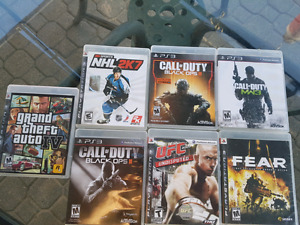 PS3 games, for sale or trade for anything but games or dvd's.