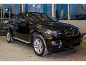 BMW X6 2014  Under warranty Very Low KM with bike rack/winterT