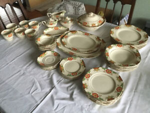 Beautiful 100 year old Dishes