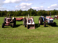 Newfield 4-60 Tractor, INT 454 Tractor, Leland 272 Tractor