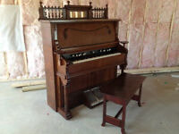 Piano and Pump Organ Repair - Dwight Mallory