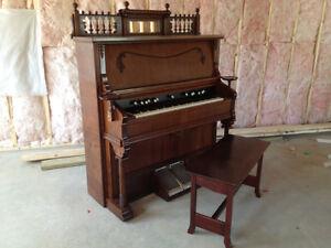 Piano and Pump Organ Repair - Dwight Mallory