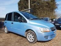 Fiat Multipla 1.9 Multijet 120 Eleganza, 6 Seater MPV Diesel, Long Mot, Towbar,