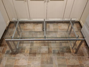 Glass TV Stand or Coffee Table - Excellent condition